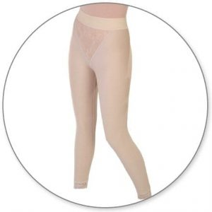 Slip On Ankle Girdle Slit Crotch by Contour - Style 15A