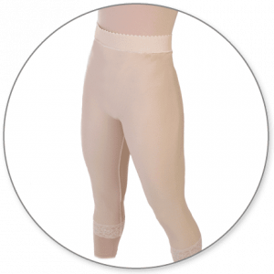 Slip On Mid Calf Girdle Closed Crotch by Contour - Style 15