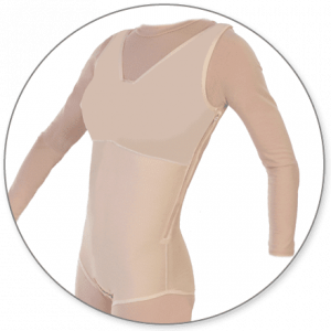 Brief Body Shaper with Side Zipper Closed Crotch - Style 32Z