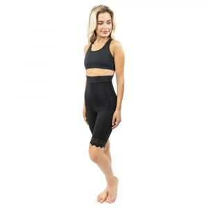 Mid Thigh Underbust Pull On Body Garment - Style 38