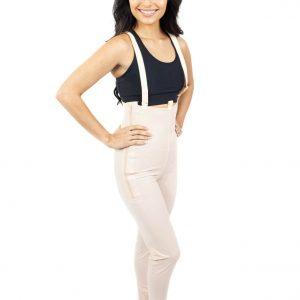 Ankle Body Garment Side Zippers Slit Crotch - Style 36Z