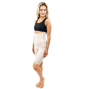 Mid Thigh Girdle 6in Waist Slit Crotch by Contour - Style 46