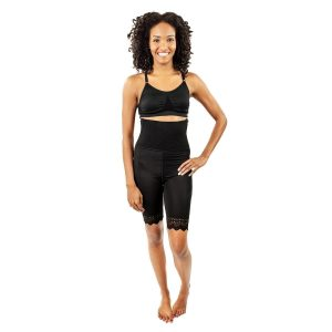 Mid Thigh Girdle 6in Waist Open Crotch by Contour - Style 46