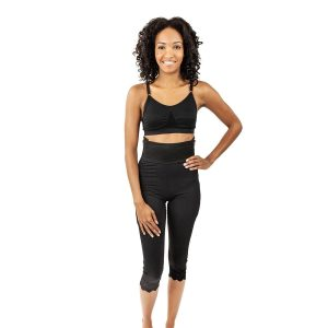 Contour Mid-Calf 1st Stage Girdle 4in Slit Crotch - Style 2
