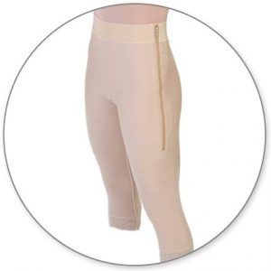 MidCalf Girdle 2in Waist Open Crotch by Contour - Style 1